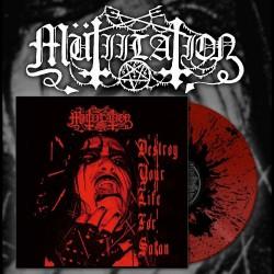 "Mutiilation - Destroy Your Life For Satan - 10"" coloured vinyl"