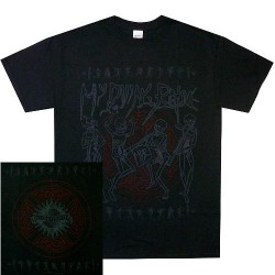 My Dying Bride - Skeletal Band - T-shirt (Men)