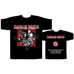 Napalm Death - Nazi Punks Fuck Off - T-shirt (Men)