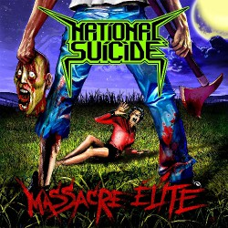 National Suicide - Massacre Elite - LP