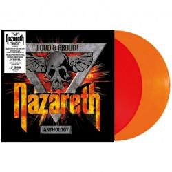 Nazareth - Loud & Proud! Anthology - DOUBLE LP GATEFOLD COLOURED