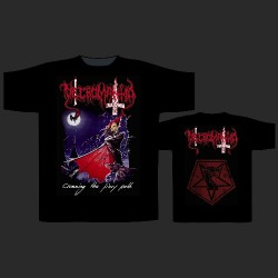 Necromantia - Crossing The Fiery Path - T-shirt (Men)