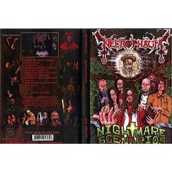 Necrophagia - Nightmare scenarios - DVD