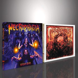 Necrophagia - WhiteWorm Cathedral + Deathtrip 69 - 2CD DIGIPACK BUNDLE
