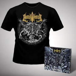 Necrowretch - Satanic Slavery - CD DIGIPAK + T-shirt bundle (Men)