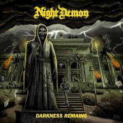 Night Demon - Darkness Remains - CD DIGIPAK