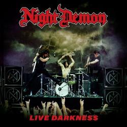 Night Demon - Live Darkness - TRIPLE LP GATEFOLD COLOURED + 2CD