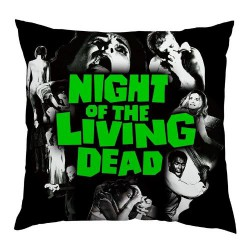 Night Of The Living Dead - Black Rose - CUSHION