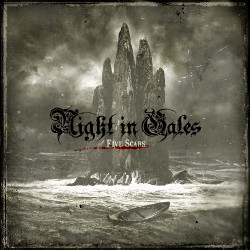 Night In Gales - Five Scars - CD DIGIPAK