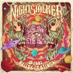 Nightstalker - Great Hallucinations - LP COLOURED