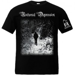 Nocturnal Depression - Four Seasons To A Depression - T-shirt (Men)