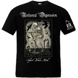 Nocturnal Depression - Spleen Black Metal - T-shirt (Men)