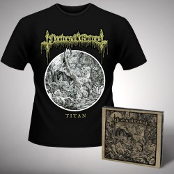 Nocturnal Graves - Bundle 1 - CD DIGIPAK + T-shirt bundle (Men)