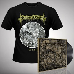 Nocturnal Graves - Bundle 3 - LP gatefold + T-shirt bundle (Men)