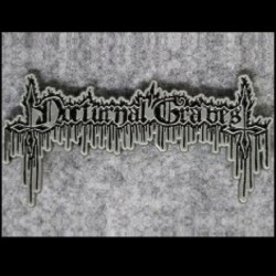 Nocturnal Graves - Logo - METAL PIN