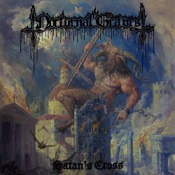 Nocturnal Graves - Satan's Cross - CD DIGIPAK + Digital