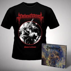 Nocturnal Graves - Satan's Cross - CD DIGIPAK + T-shirt bundle (Men)
