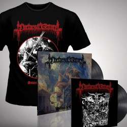"Nocturnal Graves - Satan's Cross - LP + 10"" vinyl + T-shirt (Men)"