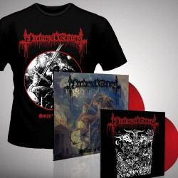 "Nocturnal Graves - Satan's Cross - LP coloured + 10"" vinyl coloured + T-shirt (Men)"