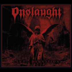 Onslaught - Live Damnation - CD DIGIPAK