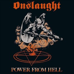 Onslaught - Power From Hell - LP COLOURED