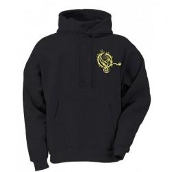 Opeth - Yellow Logo - Hooded Sweat Shirt (Men)