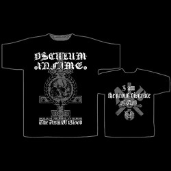 Osculum Infame - I Am The Proud Disgrace Of God - T-shirt (Men)