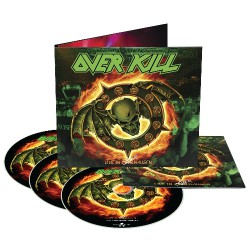 Overkill - Live In Overhausen - BLU-RAY + 2CD DIGIPAK