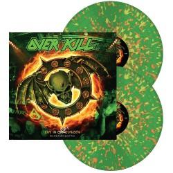 Overkill - Live In Overhausen vol. 2: Feel The Fire - DOUBLE LP GATEFOLD COLOURED