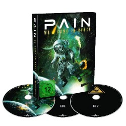 Pain - We Come In Peace - DVD + 2CD DIGI SLIPCASE