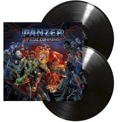 Pänzer - Fatal Command - DOUBLE LP Gatefold