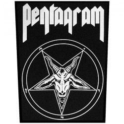 Pentagram - Relentless - BACKPATCH