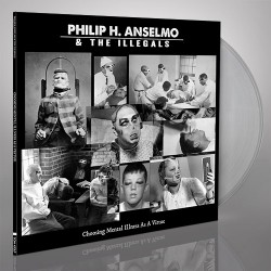 Philip H. Anselmo & The Illegals - Choosing Mental Illness As A Virtue - LP Gatefold Coloured + Digital