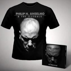Philip H. Anselmo & the Illegals - Walk Through Exits Only - CD DIGIPACK + T Shirt bundle