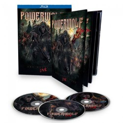 Powerwolf - The Metal Mass - CD + 2 BLU-RAY DIGIBOOK