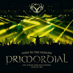 Primordial - Gods To The Godless - DOUBLE LP GATEFOLD COLOURED