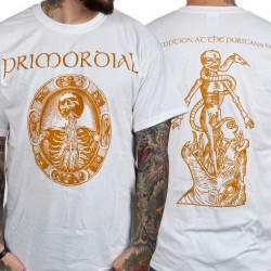 Primordial - Redemption At The Puritan's Hand (White) - T-shirt (Men)