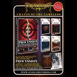 Procession - Chants Of The Nameless - 4 TAPES BOXSET