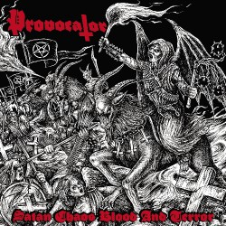 Provocator - Satan, Chaos, Blood And Terror - CD