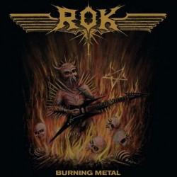 ROK - Burning Metal - LP Gatefold