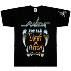 Raven - Life's A Bitch - T-shirt (Men)