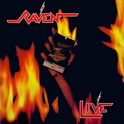 Raven - Live At The Inferno - DOUBLE LP Gatefold