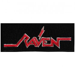 Raven - Logo - EMBROIDERED PATCH