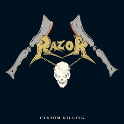 Razor - Custom Killing - LP COLOURED