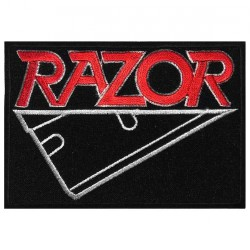 Razor - Logo - EMBROIDERED PATCH