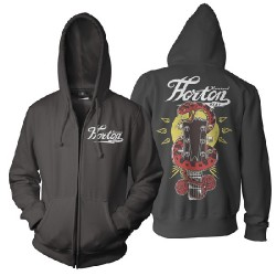 Reverend Horton Heat - Guitar Snake - Hooded Sweat Shirt Zip (Men)