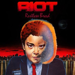 Riot - Restless Breed - DOUBLE LP GATEFOLD COLOURED