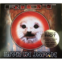 Riot - Riot In Japan - Live!! - CD DIGISLEEVE