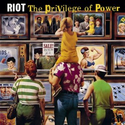 Riot - The Privilege Of Power - DOUBLE LP GATEFOLD COLOURED