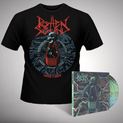 Rotten Sound - Suffer To Abuse - CD DIGIPAK + T-shirt bundle (Men)